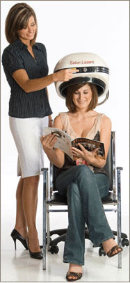 Laser Hair Therapy. Hair Loss Prevention Treatment
